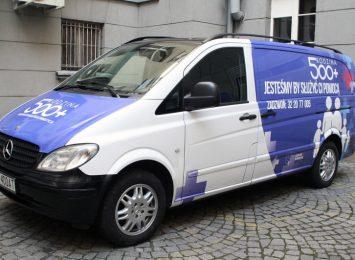 Informacyjny Bus krąży po naszym powiecie