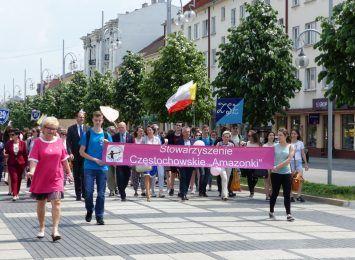 Marsz Różowej Wstążki przejdzie w środę 15 IX przez centrum Częstochowy. Zaplanowano też debatę o zdrowiu