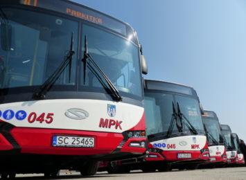 Autobusy nr 13 częstochowskiego MPK skomunikują miasto z Mykanowem