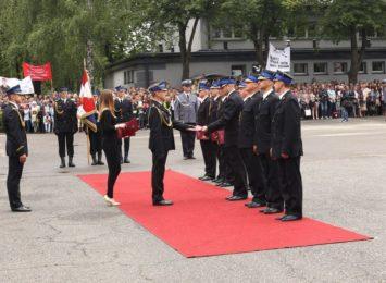 CSPSP w Częstochowie przyjęła osoby z ewakuowanej szkoły strażackiej w stolicy
