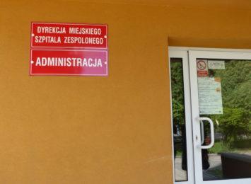 Koronawirus wymusza zmiany w funkcjonowaniu Miejskiego Szpitala Zespolonego