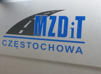Pogoda sprzyja inwestycjom drogowym w Częstochowie