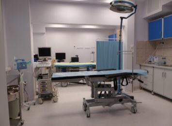 Nowe wyposażenie w szpitalu na Parkitce