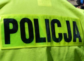 Złodziej damskich torebek w rękach policji