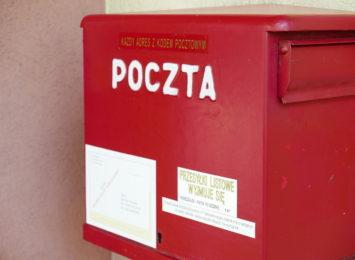 Poczta Polska w dobie koronawirusa zmienia zasady doręczania niektórych przesyłek