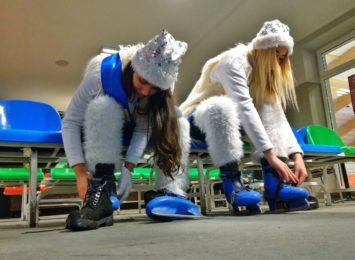 Szkółka łyżwiarska cieszy się w tym sezonie szczególnym zainteresowaniem