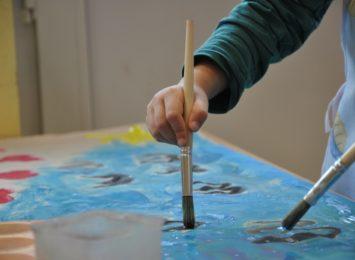 Dzieci z częstochowskich przedszkoli wzięły aktywny udział w prawdziwym plenerze malarskim