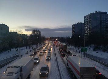 Kolejny raz tej zimy mieliśmy tragiczne warunki na drogach