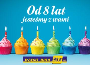 Urodziny Radia Jura! Gramy dla Was od 8 lat! [KONKURS]