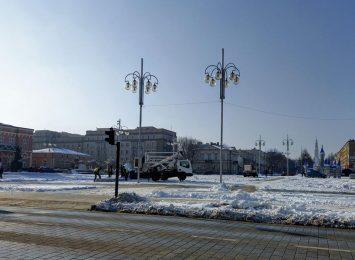 Kończy się czas świątecznego wystroju w Częstochowie