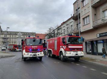Pożar mieszkania przy ulicy Piłsudskiego