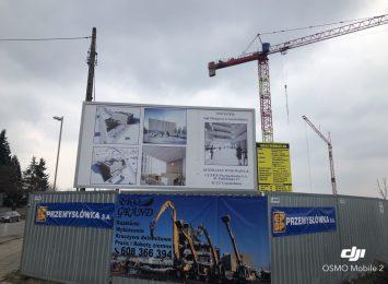 Budowa siedziby sądu rejonowego w Częstochowie wspięła się na kolejne piętro