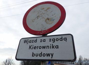 Zamknięta ulica Piłsudskiego