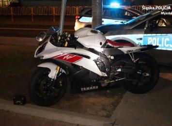 Tragiczny w skutkach wypadek motocyklisty z osobówką w Żarkach