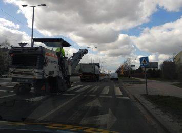 Uwaga na pracujące ekipy drogowe w Częstochowie