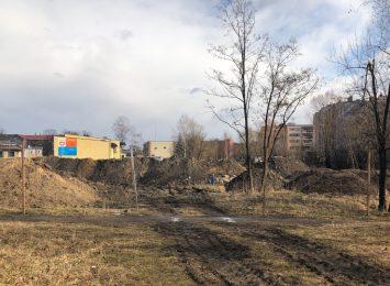 """Na dawnych terenach składowych ,,Węglobloku"""" powstaje Promenada Śródmiejska"""