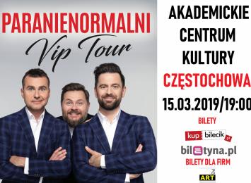 Kabaret Paranienormalni - już w piątek, 15 maca o godzinie 19 w Akademickim Centrum Kultury w Częstochowie!