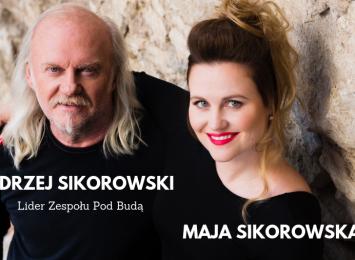 Andrzej Sikorowski oraz Maja Sikorowska z zespołem!