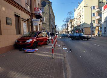 Błąd kierowcy, który mógł zakończyć się tragedią