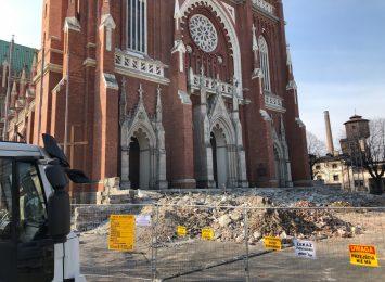 W trakcie remontu katedry odnaleziono ludzkie szczątki