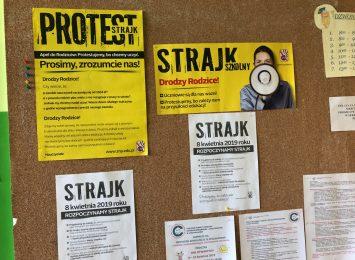 Drugi tydzień strajku. Czy pedagodzy dostaną wypłatę?
