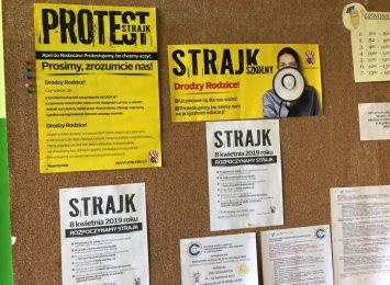 Urząd Miasta szczegółowo o sytuacji w czasie strajku nauczycieli