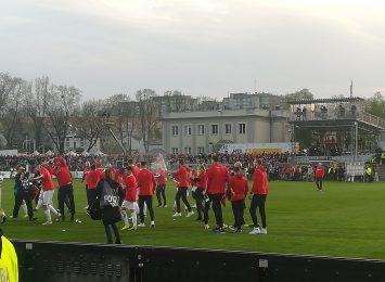 Po 21 latach piłkarze Rakowa wracają do Ekstraklasy!