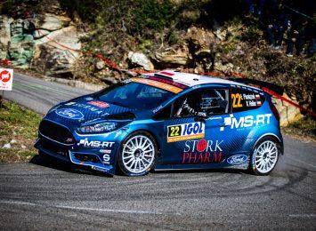 Łukasz Pieniążek liderem WRC 2 Pro po Rajdzie Korsyki, który rozgrywany był w weekend