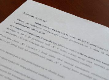 Komisarz wyborczy pisze do mieszkańców