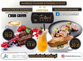 Festiwal Smaku w Częstochowie i całym regionie - Radomsko, Lubliniec, Olsztyn!