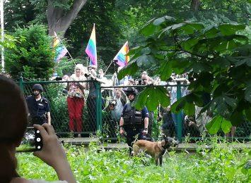 Marsz równości w Częstochowie. Nie zabrakło incydentów