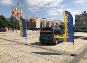 Wakacje z Radiem Jura: Na Placu Biegańskiego witaliśmy mistrzynię w akrobacjach szybowcowych