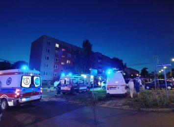 Dwie osoby zostały ranne podczas wybuchu w jednym z bloków w częstochowskiej dzielnicy Północ