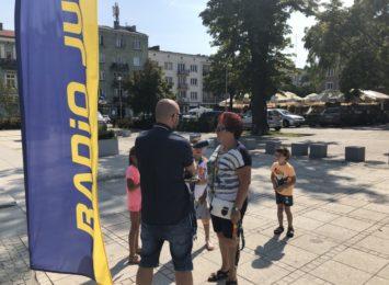 Wakacje z Radiem Jura: Wizyta na Placu Biegańskiego