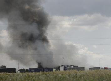 Prokuratura Okręgowa zajmie się prowadzeniem śledztwa w sprawie pożaru odpadów w Myszkowie