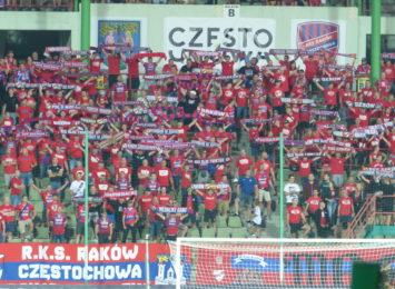 Raków Częstochowa zagra z Wisłą Kraków