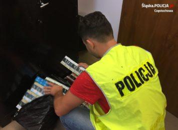750 paczek papierosów bez akcyzy przechwycili częstochowscy policjanci