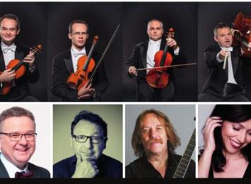 Koncert Grupa Mocarta i Przyjaciele 8 listopada w Filharmonii Częstochowskiej im. B. Hubermana