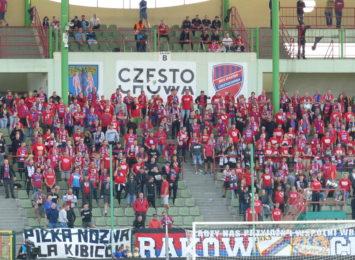 Piłkarze Rakowa ponownie ulegli Cracovii