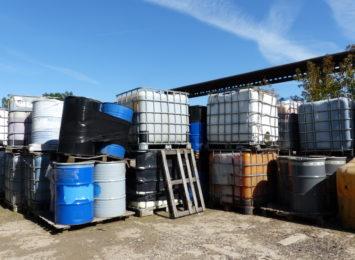 Groźne chemikalia na Zawodziu już pod lupą urzędników i odpowiednich służb