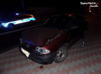 Pijany kierowca sprawcą kolizji w Żarkach