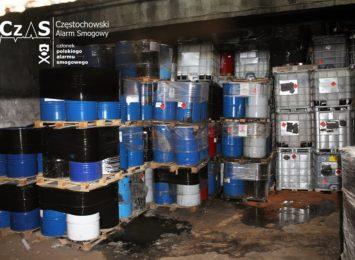 Problem odpadów zgromadzonych nielegalnie w jednej z hal fabrycznych przy ul. Filomatów znów powraca