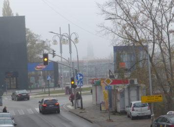 Uwaga kierowcy! Mglisty poranek w mieście i regionie