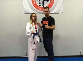 Daria Korzonek wicemistrzynią Polski w Taekwondo Olimpijskim