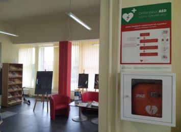 Kolejne defibrylatory pojawiły się w naszym mieście dzięki Budżetowi Obywatelskiemu