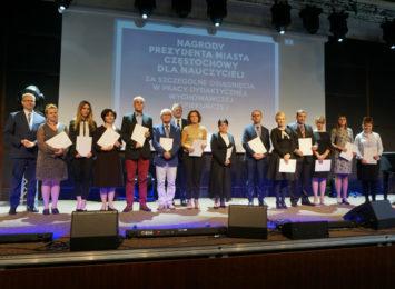 Nagrody dla częstochowskich nauczycieli rozdane