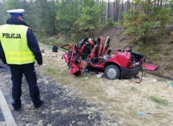 Tragiczny wypadek na DK 91