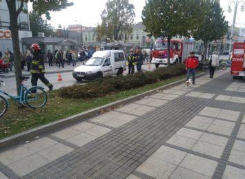 Potrącenie na przejściu dla pieszych w centrum Częstochowy