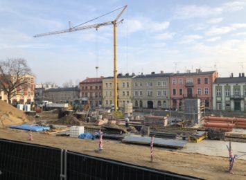 Koronawirus może mieć wpływ opóźnienie trwających miejskich inwestycji