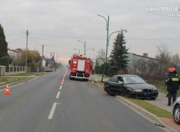 Groźny wypadek w Lublińcu. Ranny został 19- letni kierowca BMW